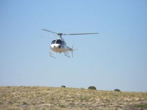 AS350 Squirrel - Lake Eyre